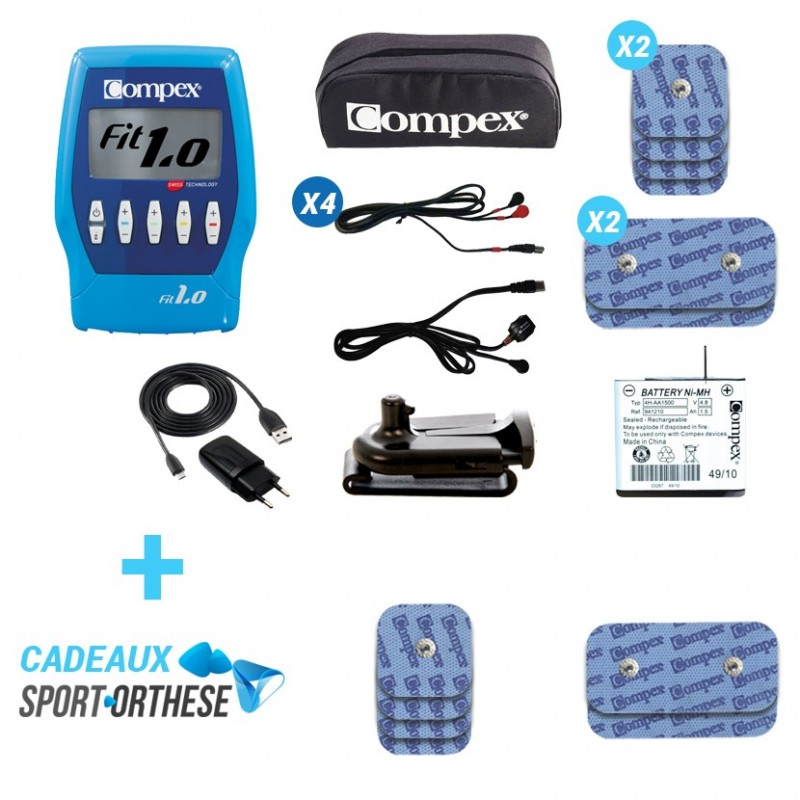 compex fitness fit 1 0 electrostimulation. Black Bedroom Furniture Sets. Home Design Ideas