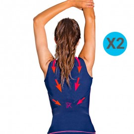 [Pack x2] Percko Lyne FIT T-Shirt Sport Femme