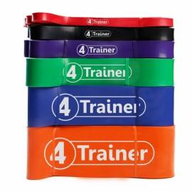 "Pack PRO Elastiques ""Powerband"" - 4Trainer"