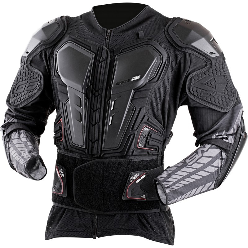 gilet de protection motocross contre les pierres avec protection dorsale du tronc et des bras. Black Bedroom Furniture Sets. Home Design Ideas