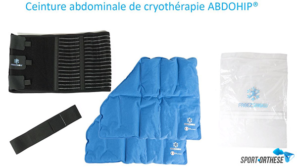 Abdo Hip Freezsnow pack