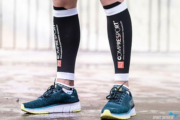 personne portant les manchons R2V2 pour la course à pied
