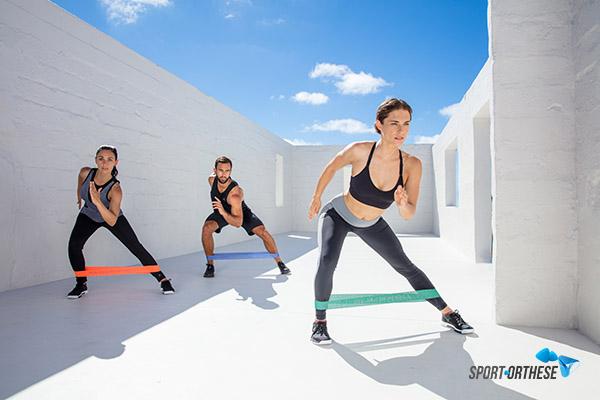 elastiques fitness