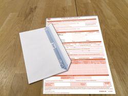 Réception de votre feuille de soin dans une enveloppe séparée