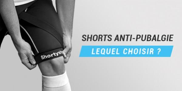 Comparatif Shorts Pubalgie - Leurs spécificités