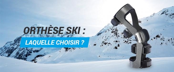 Les genouillères ligamentaires pour le skieur !