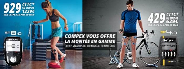 COMPEX VOUS OFFRE LA MONTEE DE GAMME : COMPEX NOW