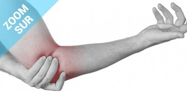 Zoom sur le tennis Elbow ou Épicondylite