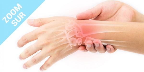 Zoom sur la tendinite du poignet